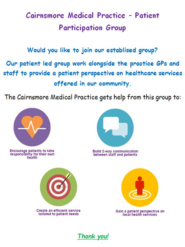 Patient Participation Group Poster